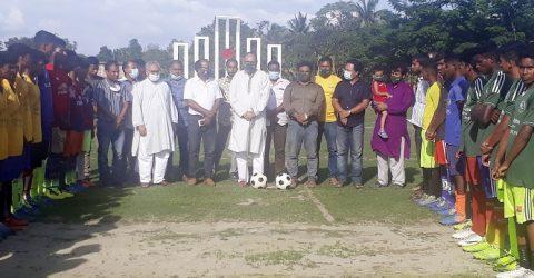 পীরগঞ্জে বঙ্গবন্ধু গোল্ডকাপ ফুটবল টুনার্মেন্টের উদ্বোধন